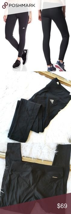 Adidas brand new Climawarm black leggings The perfect pair of black workout leggings by Adidas. Climawarm style made to keep you warm for those late night runs! Adidas Pants Leggings