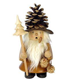 Look at this #zulilyfind! Christian Ulbricht Pinecone Man Incense Burner by Christian Ulbricht #zulilyfinds