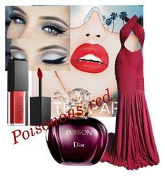 """""""Wild on rend"""" by julia-alonso on Polyvore featuring Rupaul, Hervé Léger and Smashbox"""