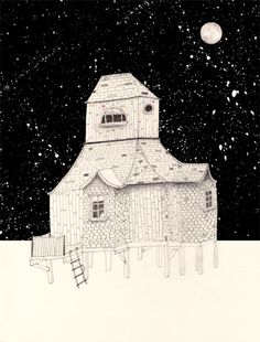 Image of NIGHT HOUSE by Amy Borrell