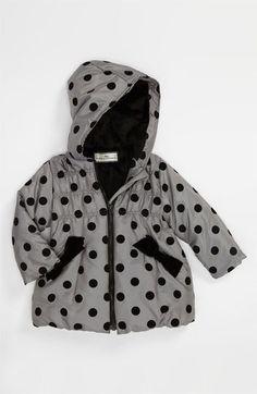 Widgeon Polka Dot Coat (Toddler)   Nordstrom