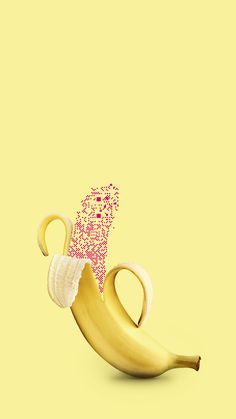 fighting for more banana-art. Banana Art, Motion Design, Photo And Video, Instagram
