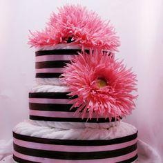 Vivian diaper cake