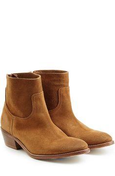 want!!   Ankle Boots Teddy aus Veloursleder detail 0