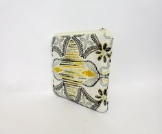 Zipper Pouch Small Cosmetic Bag Zipper Pouch by handjstarcreations, $10.00