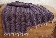 Zig Zag sjaal (Chevron Lace Wrap)