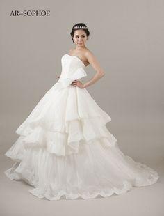SOPHOE Bridal Gowns, Wedding Dresses, One Shoulder Wedding Dress, Fashion, Dress, Bride Dresses, Bride Dresses, Moda, Fashion Styles
