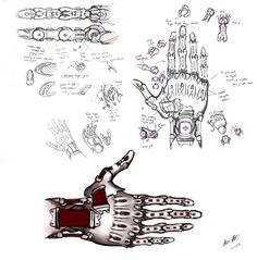 Prosthetic Hand Design by kujo.deviantart.com on @deviantART