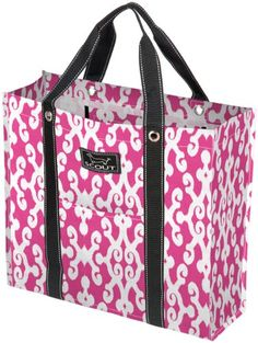 "$26.79-$29.00 SCOUT Shopahaulit Multi-Pocket Tote Bag, Pink Lady - The Scout Shop-A-Haul-It Tote in Pink Lady design is also lovingly referred to as The Enabler. This tote supports the healthy ""But it was on sale!!"" habit for all of you! Features include an inside zipper pocket; inside mesh pocket; inside large pocket and two outside pockets. Water resistant; Wipe clean. Made from durable polywove ..."