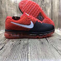 Hot Nike Air Max 2017 Netflix Red Black LUNARLUNCH Sneakers