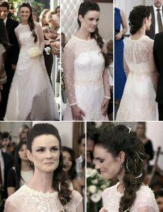 Vestido de Noiva da Gina - Novela Amor à Vida