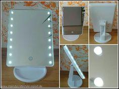Kosmetikspiegel mit LED und dimmbar - Kreiere Dein Leben-Mandys Lifestyle Report