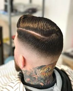Tips with regard to excellent looking hair. Your hair is just what can certainly define you as a person. To many people it is vital to have a really good hair style. Mens Hairstyles With Beard, Slick Hairstyles, Hair And Beard Styles, Hairstyles Haircuts, Vintage Hairstyles, Haircuts For Men, Short Hair Cuts, Short Hair Styles, Gents Hair Style
