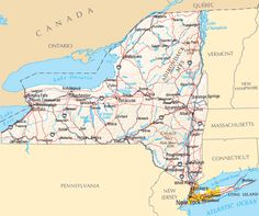 Maps For Kids New York New York State Map For Kids Pictures - State map of new york