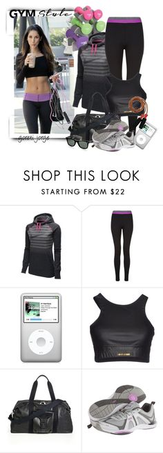 """""""Cool Gym Style"""" by goreti ❤ liked on Polyvore featuring NIKE, Cambio, Roberto Cavalli, Alexander McQueen, Lake, Rykä and gymstyle"""