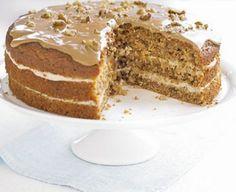 The ultimate makeover: Coffee walnut cake
