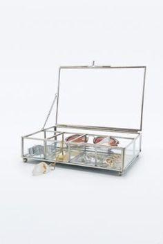 Boîte à bijoux en verre - Urban Outfitters