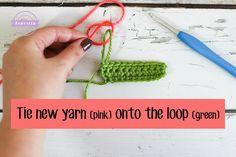 5 BEST Ways Change Color in Crochet