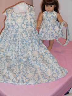 Girl and Doll Matching Summer SunDresses by TeenyTinyTailorShop