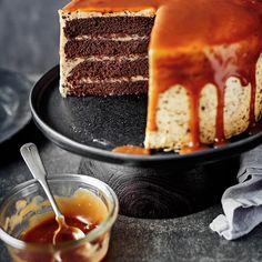 Gâteau au chocolat et crème au beurre au caramel (gâteau des fans) | Ricardo