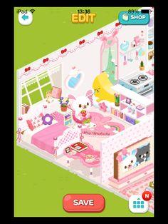 #LinePlay #App #Game #Muriomu La mia prima casetta. Camera da letto