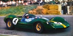 Jim Clark (Lotus - Ford) Brands Hatch 1965