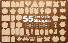 مدونة محترف فوتوشوب: أشكال فوتوشوب جديدة 2016 Tag Crafts Shapes