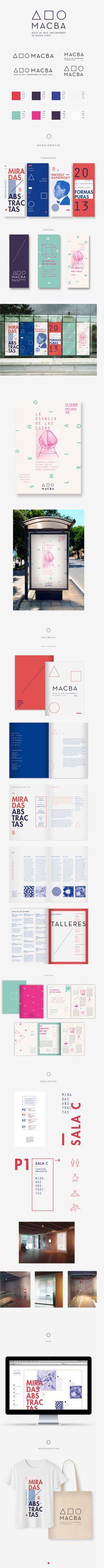 Identidade do Museu de Arte Contemporânea de Buenos Aires