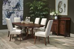 Complete the dining room of your dreams when you welcome the Galveston Asbury Dining Room Collection into your home. This clean and beautiful look, and the smart style look will transform your dining area.   Houston, TX   Gallery Furniture  