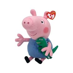 George Pig Regular is part of the Peppa Pig collection from TY - the  largest plush manufacturer in the world! From Beanie Boos to Peek-A-Boos to  My Little ... 9e2a40acab0c