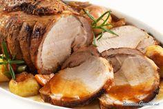 Carré de cerdo a la cerveza con mostaza #Navidad #RecetasparaNavidad…