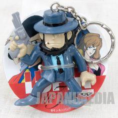 Lupin the Third (3rd) Daisuke Zigen Figure Keychain Banpresto JAPAN ANIME MANGA