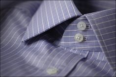 Charvet bespoke shirt texture & pattern