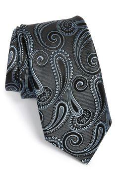 Men's Michael Kors 'Persian Paisley' Silk Tie