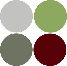 grey and red | ... combination, soft light green color, deep red and gray color shades