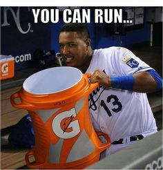 But you can't hide  Time for a Salvy Splash!