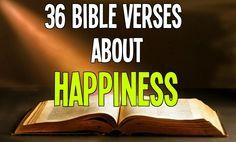 36 Bible Verses about HAPPINESS - read here: bible.knowing-jes. Happy Bible Verses, Favorite Bible Verses, Bible Verses Quotes, Faith Quotes, Healing Verses, Healing Words, Bible Emergency Numbers, Prayer Partner, Pastors Wife