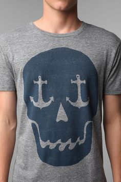 Altru Nautical Skull Tee $28