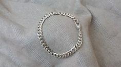 Panzerarmband Armband Silber 925 Länge 21 cm SA156 von Schmuckbaron
