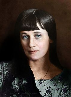 "Анна Ахматова | Anna Akhmatova - ""Nothing I counted mine, out of my life, is mine to take."""