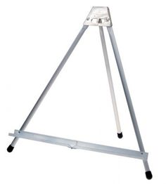 Always be prepared for presentations, or for when the motivation to create a masterpiece strikes, with the Testrite Basic Table Easel . Table Easel, Art Shed, Art Easel, Aluminum Table, Craft Show Ideas, Wardrobe Rack, Flooring, Furniture, Easels