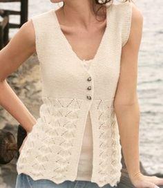 – Knitting patterns, knitting designs, knitting for beginners. Diy Crafts Knitting, Creative Knitting, Easy Knitting, Bolero Pattern, Cardigan Pattern, Knitting Magazine, Girls Hand, Knit Vest, Knitting Designs