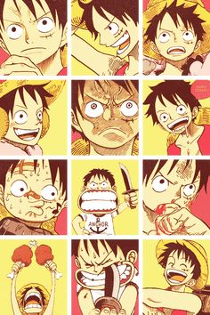 Monkey D. Luffy http://shonen.co.vu/post/82083952938/30-day-one-piece-challenge-day-1-favorite