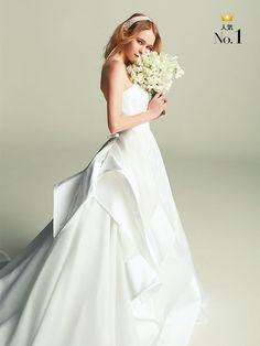 フェリーチェヴィータ × ベリッシマ(Felice Vita × Bellissima) 立体感のあるモードなドレスが堂々の1位を獲得!