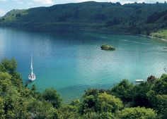 The Point Villas — Taupo, New Zealand: A view of Lake Taupo, one of the many distractions at the Point Villas.