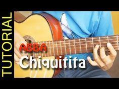 Como Tocar Chiquitita En Guitarra Acustica Abba Acordes How To Play Guitarra Acustica Guitarras Abba