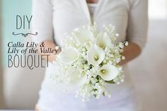 Real Touch Small Hand-Tied Calla Lily Bouquet in White Real Touch Hand-Tied Calla Lily Wedding Bouquet in White – Tall Lily Bouquet Wedding, Small Wedding Bouquets, Calla Lily Bouquet, Diy Wedding Flowers, Wedding Flower Arrangements, Wedding Centerpieces, Wedding Decorations, Calla Lilies, Calla Lily Boutonniere