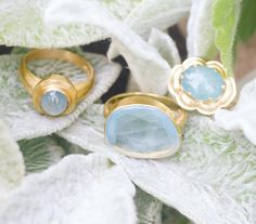 pippasmalljewelleryAs mesmerising as the gentle Mediterranean Sea, Aquamarine has been used since ancient times as a protector of sailors.