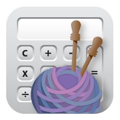 Knittrick app does the math so you can do the knitting! OMG