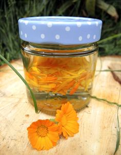 Kraut, Frugal, Mason Jars, Star, Creme, Blog, Healthy Herbs, Calendula, Natural Remedies